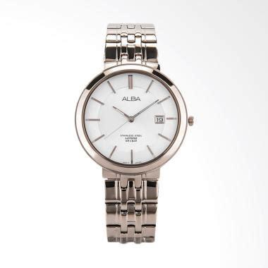 Alba At2010x1 Jam Tangan Pria Tali Logam Gold alba jual jam tangan alba original harga murah blibli