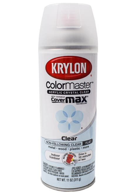 Matte Spray Paint For Cars - krylon cover max clear coat spray paint