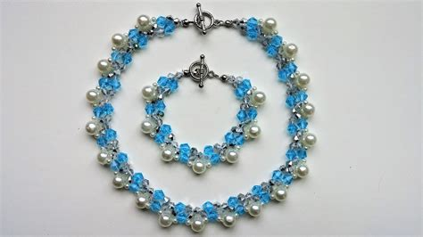 beginner jewelry ideas handmade beaded necklace and bracelet beginners