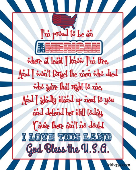 An American Lyrics Patriotic Fonts Here S 38 Of The Best Free Patriotic Fonts Inkhappi