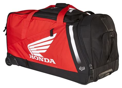fox motocross gear bags fox racing honda shuttle roller gear bag revzilla