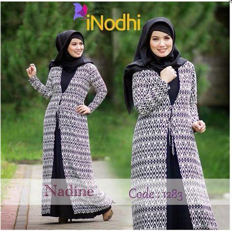 Syari Baju Muslim Keren 15 model baju muslim syar i modis dan trendy terbaru 2017