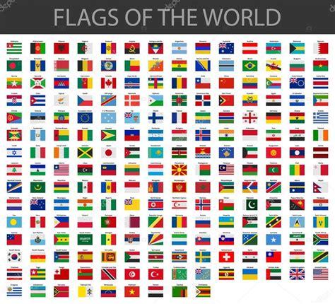 flags of the world vector images v 228 rldens flaggor vektor stock vektor 169 noche0 66430809