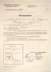 Acceptance Letter German The Collector S Guild