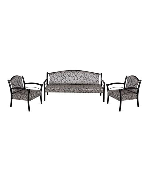 steel sofa price list nilkamal avintis 3 1 1 metal sofa set buy nilkamal