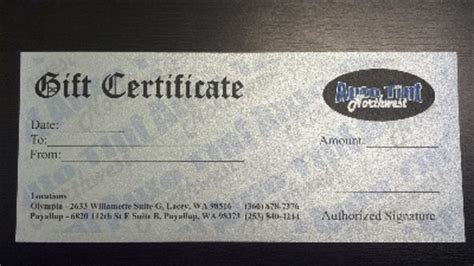automotive gift certificate template auto tint northwest automotive commercial residential