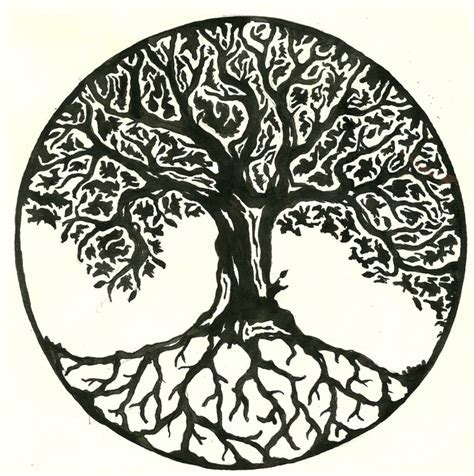 tree of life tattoo designs meaning yggdrasil the world tree