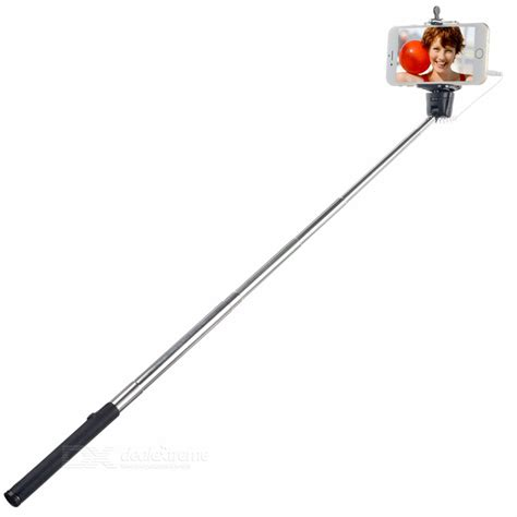 Tongsis Kabel Z07 5s Holder U z07 5s handheld selfie monopod w 3 5mm audio cable for cell phone black free shipping