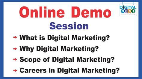 tutorial internet marketing gratis digital marketing course online training demo tutorial