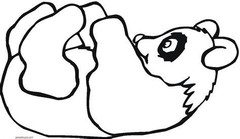 imagenes de osos navideños dibujos de oso panda para colorear