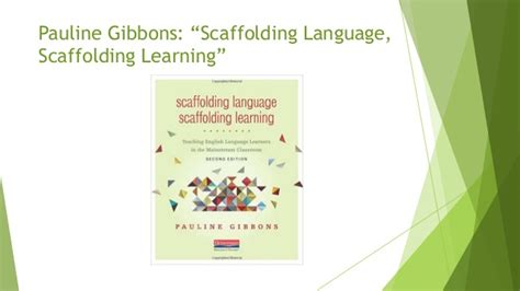 scaffolding language scaffolding learning second edition teaching language learners in the mainstream classroom scaffolding language scaffolding learning second edition