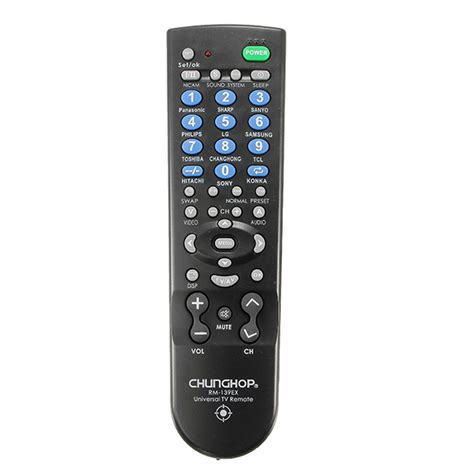 Chunghop Universal Tv Remote chunghop rm139ex universal replacement remote for tv set alex nld