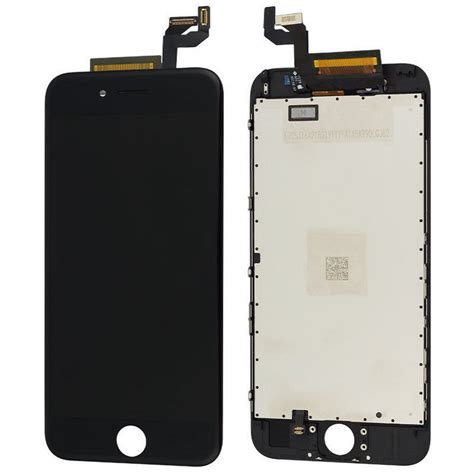 framed new black lcd display touch screen digitizer assembly for iphone 6s 4 7 ebay