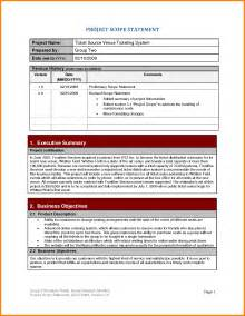 scope statement template 8 project scope statement template statement 2017