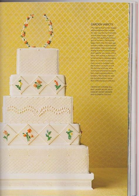 Wedding Cake Quilting by Quilted Wedding Cake
