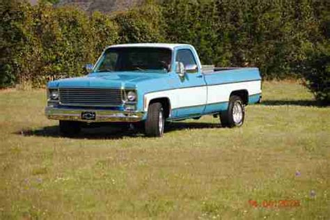 purchase used 1978 chevy silverado wide bed v8