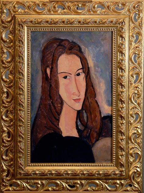 Cornice by Modigliani Ritratto Di Jeanne H 233 Buterne La Bottega Dei