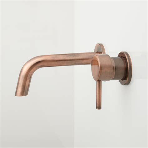 wall faucet for bathroom sink copper faucets copper wall mount bathroom sink faucets
