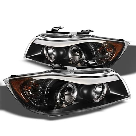 bmw e90 headlights spyder 2006 2008 bmw e90 3 series headlights