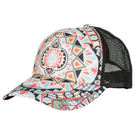 billabong tiles n tides trucker hat s