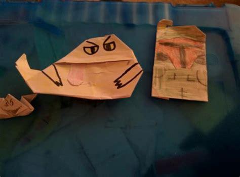 Origami Salacious Crumb - jabbas palace great showcase origami yoda
