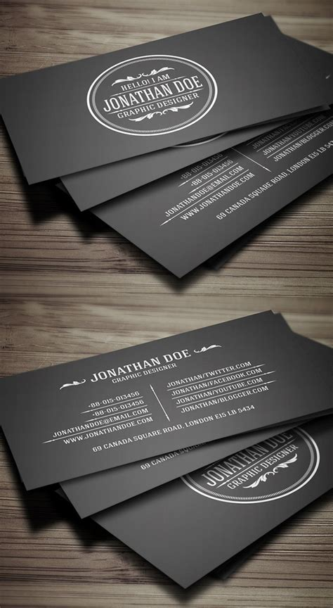 Print Ready Business Card Template by 25 New Modern Business Card Templates Print Ready Design