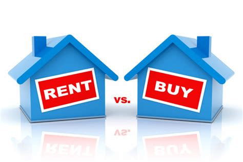 buy house for rent debate on buying vs renting a house