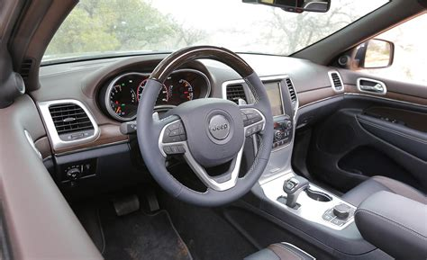 2014 Jeep Grand Interior Car And Driver