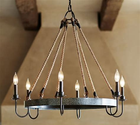 Pottery Barn Wine Chandelier Napa Wine Barrel Chandelier Pottery Barn