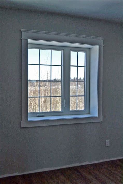 modern window trim modern casing and headers ana white moulding