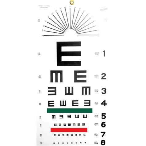 printable 8 x 11 eye chart maxiaids illiterate eye chart