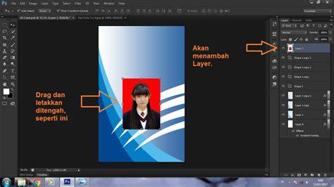 membuat id card di internet cara membuat id card di photoshop cs6 photoshop
