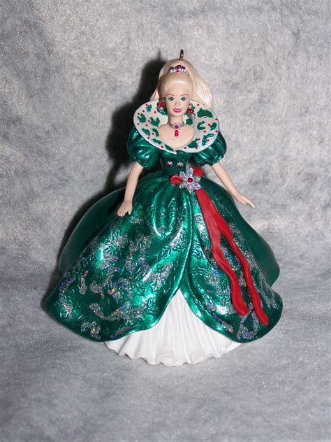 new hallmark barbie collector series keepsake christmas