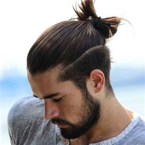 hairstyles new longhair chotli boys the 25 best ideas about men ponytail on pinterest man