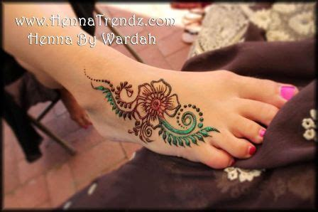 simple henna tattoo for hand amp leg foot henna