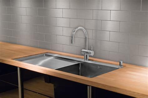 stainless steel backsplash tiles the tile home guide