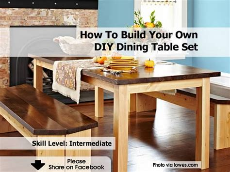 make a table for your dining room sidetracked sarah diy dining table set autos post