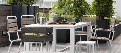 tavoli da terrazzo tavoli da giardino per esterno di design unopi 249