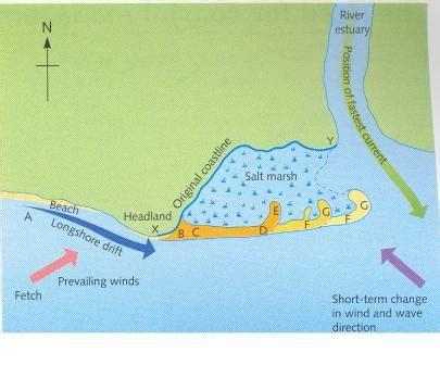 spit diagram sand dune diagram simple delta diagram elsavadorla