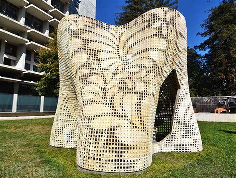 Castle In Miami uc berkeley unveils innovative 3d printed quot bloom quot building