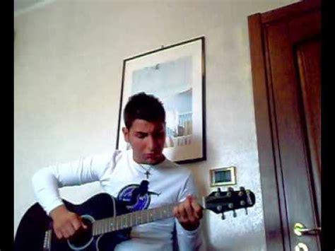 ridere vasco ridere di te vasco cover chitarra e voce