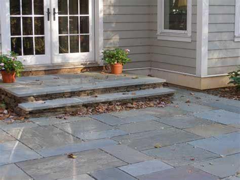 Patio Door Steps Discover Bluestone Patio Costs Per Square Foot Bluestone Patio Patio And Landing