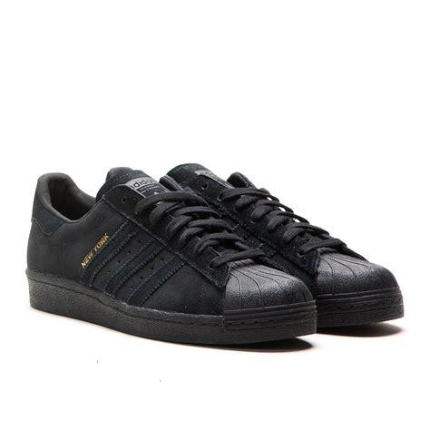 Adidas Superstar Black adidas superstar 80s city series quot new york quot black
