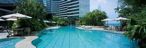 hk pools hong kong hotel pool outdoor pool at grand hyatt hong kong