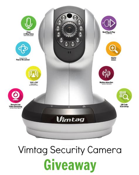 Free Camera Giveaway - benefits of using a security camera to monitor your pets pawsitively pets