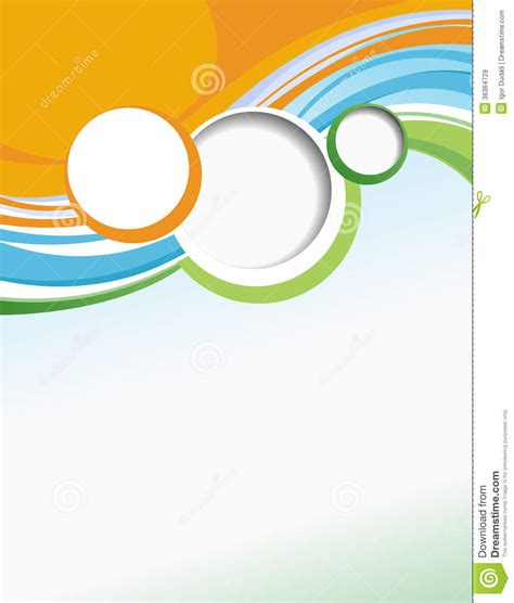 Business Brochure Template Stock Illustration Illustration Of Curve 36364729 Will Cover Template