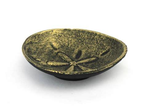 decorative sand wholesale antique gold cast iron sand dollar decorative