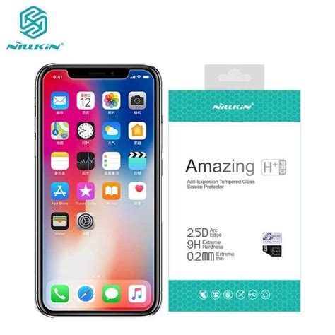 aliexpress buy for iphone x tempered glass for iphone xs glass nillkin amazing h pro anti