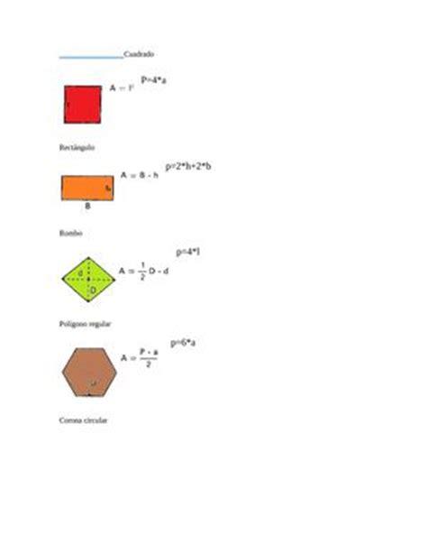 figuras geometricas con area y perimetro calam 233 o figuras geom 233 tricas con su 225 rea y per 237 metro