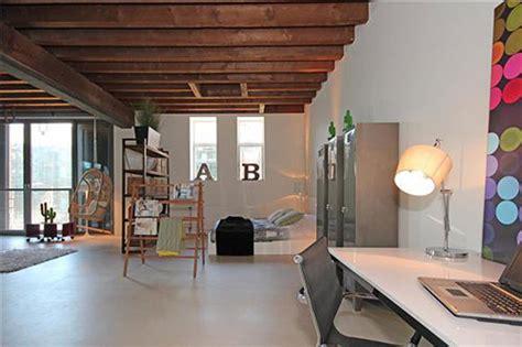 pakhuis amsterdam meubels loft woning in voormalig pakhuis in rotterdam interieur